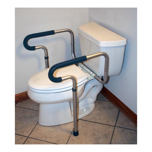 MON78013300 - McKesson Toilet Safety Frame sunmark® Aluminum