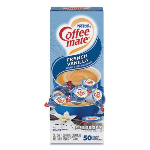 K-Cups® Flavia; Nespresso® Coffee-Mate Sugar Free French Vanilla Liquid Creamer 50 count. Regular price $ $ Coffee-Mate Peppermint Mocha Liquid Creamer 50 count. Regular price $ $ Coffee-Mate Pumpkin Spice Liquid Creamer 50 count.