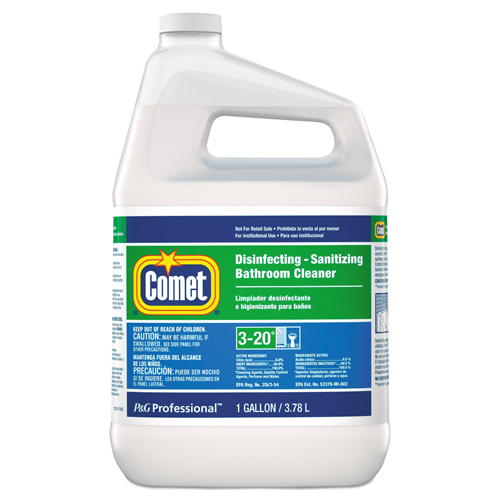 Bettymills Comet Professional Line Liquid Disinfectant Bathroom Cleaner Procter Gamble