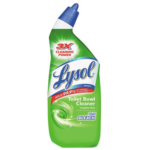 Bleach Bathroom Cleaner: BettyMills: LYSOL® Power Toilet Bowl Cleaner With Bleach