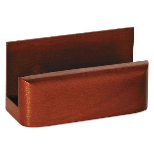 Bettymills Rolodex Wood Tones Business Card Holder