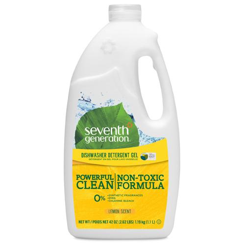 how to use palmolive gel dishwasher detergent
