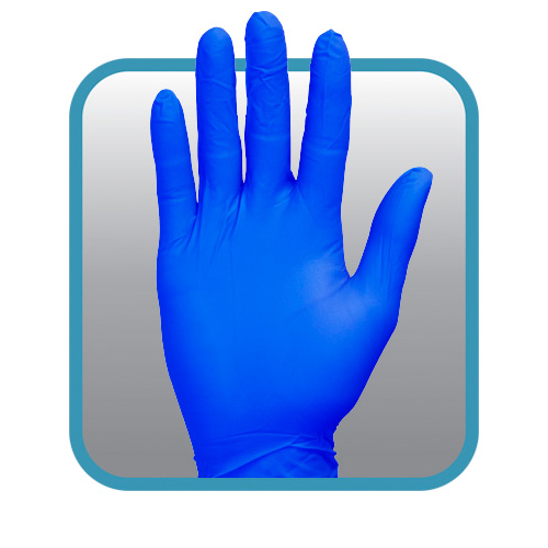 Nitrile Safety Zone GNPR-SM-1 Powder Free Glove Pack of 1000 The Safety Zone 6 mil S