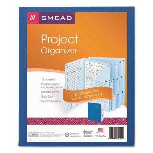 bettymills smead 10 pocket project organizer smead 89200. Black Bedroom Furniture Sets. Home Design Ideas
