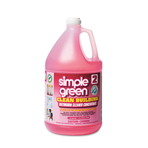 Bettymills Simple Green Clean Building Bathroom Cleaner Concentrate Simple Green Smp11101ct