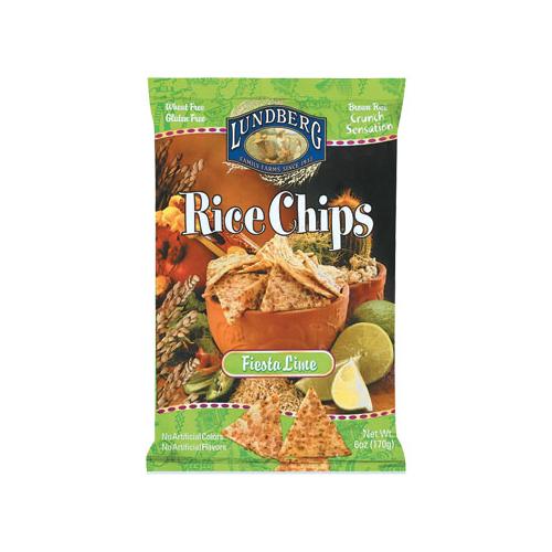 BettyMills: Fiesta Lime Rice Chips - Lundberg 35306