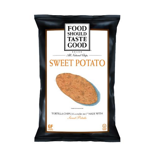 Food Should Taste Good All Natural Tortilla Chips Sweet Potato