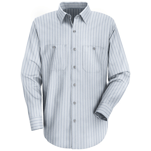 cce8a5756 Red Kap Men's Industrial Stripe Work Shirt. Item # UNF SP10BB-LN-3XL by Red  Kap (Mfg. Part # SP10BB-LN-3XL, UPC # 36394846160)