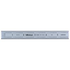 ORS504-182-101 - MitutoyoSeries 182 Wide Rigid Steel Rules