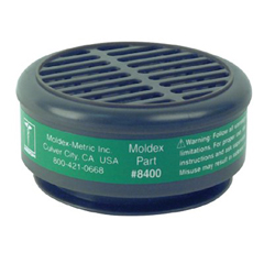MLD507-8400 - Moldex8000 Series Gas/Vapor Cartridges