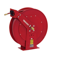 RLC523-82100OLP - ReelcraftHeavy Duty Spring Retractable Hose Reels, 1/2 In X 100 Ft