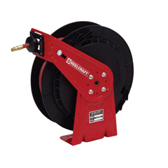 RLC523-RT650OLP - ReelcraftMedium Duty Spring Retractable Reels, 3/8 In X 50 Ft