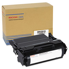 IFP39V2515 - InfoPrint Solutions Company 39V2515 Extra High-Yield Toner, 36,000 Page Yield, Black