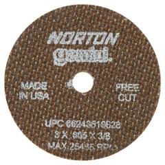 NRT547-66243510628 - NortonType 01 Gemini Reinforced Cut-Off Wheels