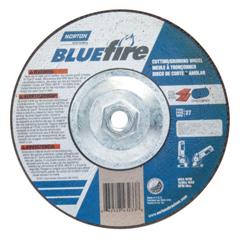 NRT547-66252843233 - NortonDepressed Center Wheel, 7 In Dia, 1/8 In Thick, 5/8 Arbor, Zirconia/Alum. Oxide