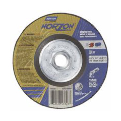 NRT547-66252843326 - NortonType 27 NorZon Plus Depressed Center Grinding Wheels