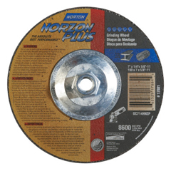 NRT547-66252917881 - NortonType 27 NorZon Plus Depressed Center Grinding Wheels