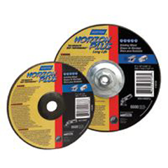 NRT547-66252939184 - NortonType 27 NorZon Plus Depressed Center Grinding Wheels
