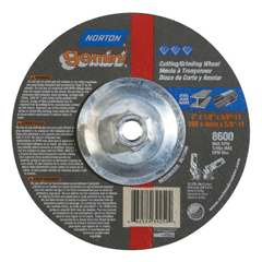NRT547-66252939259 - NortonType 27 Gemini Depressed Center Cutting/Notching Wheels
