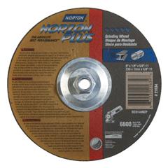 NRT547-66253021634 - NortonType 27 NorZon Plus Depressed Center Grinding Wheels