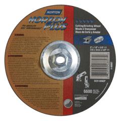 NRT547-66253048897 - NortonType 27 NorZon Plus Depressed Center Grinding Wheels