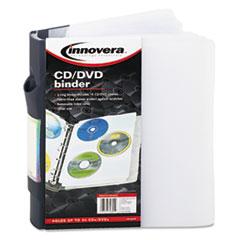 IVR39300 - Innovera® CD/DVD Three-Ring Binder
