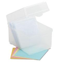 IVR39400 - Innovera® Polypropylene CD/DVD Storage Box