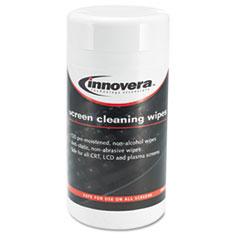 IVR51510 - Innovera® Antistatic Screen Cleaning Wipes