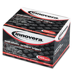IVR51516 - Innovera® Antistatic Screen Cleaning Wipes