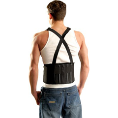 OCC561-611-065 - OccuNomixMustang Back Supports with Suspenders