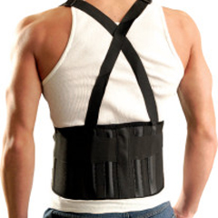 OCC561-611-063 - OccuNomixMustang Back Supports with Suspenders