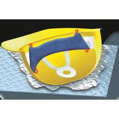 OCC561-880-01 - OccuNomixTerry Topper® Hard Hat Sweatbands