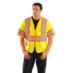 561-LUX-HSCLC3Z-Y2X - OccuNomixClass 3 Mesh Half Sleeve Vest