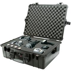 PLC562-1600-000-110 - PelicanLarge Protector Cases, 1600 Case, 16 1/2 In X 7.87 In X 21.43 In, Black