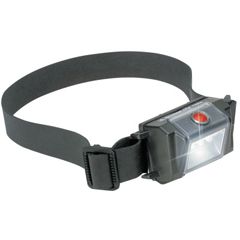 PLC562-2610-033-110 - Pelican - 2610 Series Headsup Lite, LED, Aaa, 30 L (High); 14 L (Low), Black