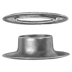 CSB565-G1-2 - C.S. OsbornePlain Rim Grommets and Washers