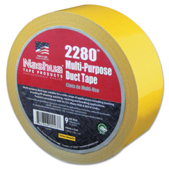 BER573-1087200 - Berry Plastics - 2280 General Purpose Duct Tapes, Yellow, 55M X 48mm X 9 Mil