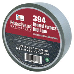 BER573-1086769 - Berry PlasticsMulti-Purpose Duct Tapes, Silver, 2 In X 60 Yd X 8.5 Mil