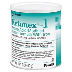 MON51112601 - Abbott NutritionOral Supplement Ketonex®-1 Unflavored 14.1 oz.