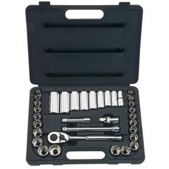 STA576-85-405 - Stanley-Bostitch34 Piece Standard & Deep Socket Sets