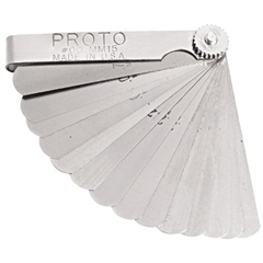 PTO577-00MM15 - Proto15 Blade Metric Feeler Gauge Sets