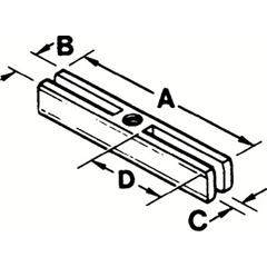 PTO577-4206SC - ProtoSlotted Crossarms