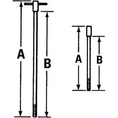 PTO577-4260R - ProtoT-Handle Rods