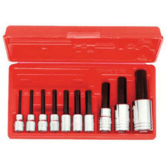 PTO577-4900MA - Proto - 10 Piece Hex Bit Socket Sets