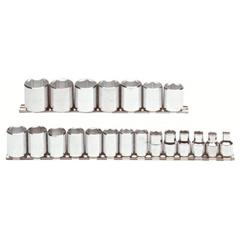 PTO577-52211 - ProtoTorqueplus™ 21 Piece Metric Socket Sets