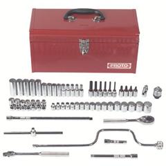 PTO577-52226 - ProtoTorqueplus™ 57 Piece Metric Socket Sets