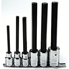 PTO577-5441-6XL - Proto6 Piece Extra-Long Hex Bit Socket Sets