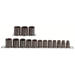 PTO577-74104 - ProtoTorqueplus™ 15 Piece Impact Socket Sets