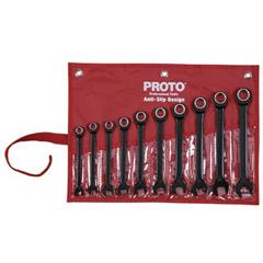 PTO577-SCRM-10S - ProtoSpline Non-Reversing Combination Wrench Sets