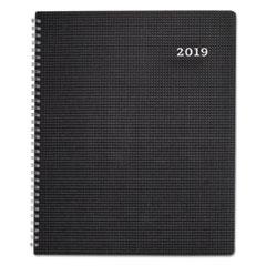 REDCB950VBLK - DuraFlex Weekly Planner, 8 1/2 x 11, Black, 2019